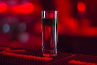 light, red, night