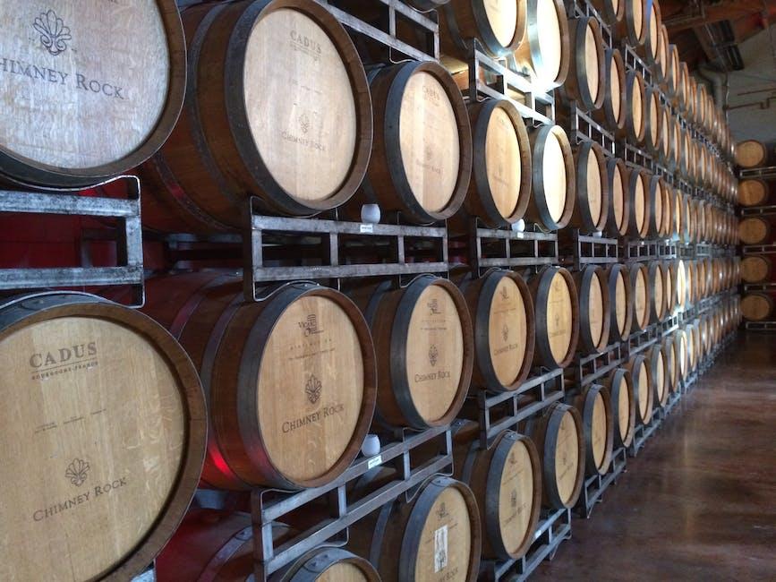 alcohol, barrel, basement