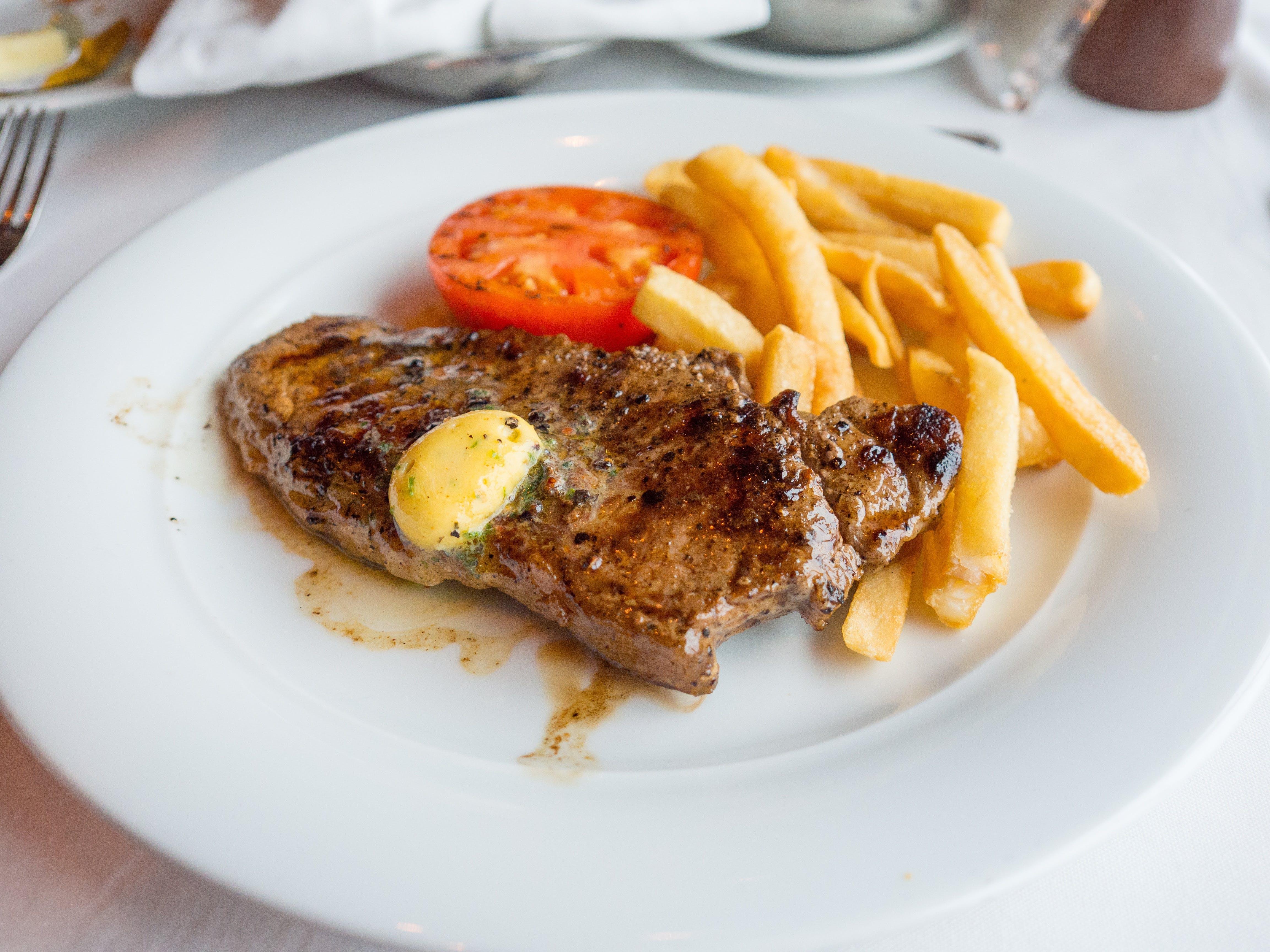 Free stock photo of food, plate, restaurant, dinner