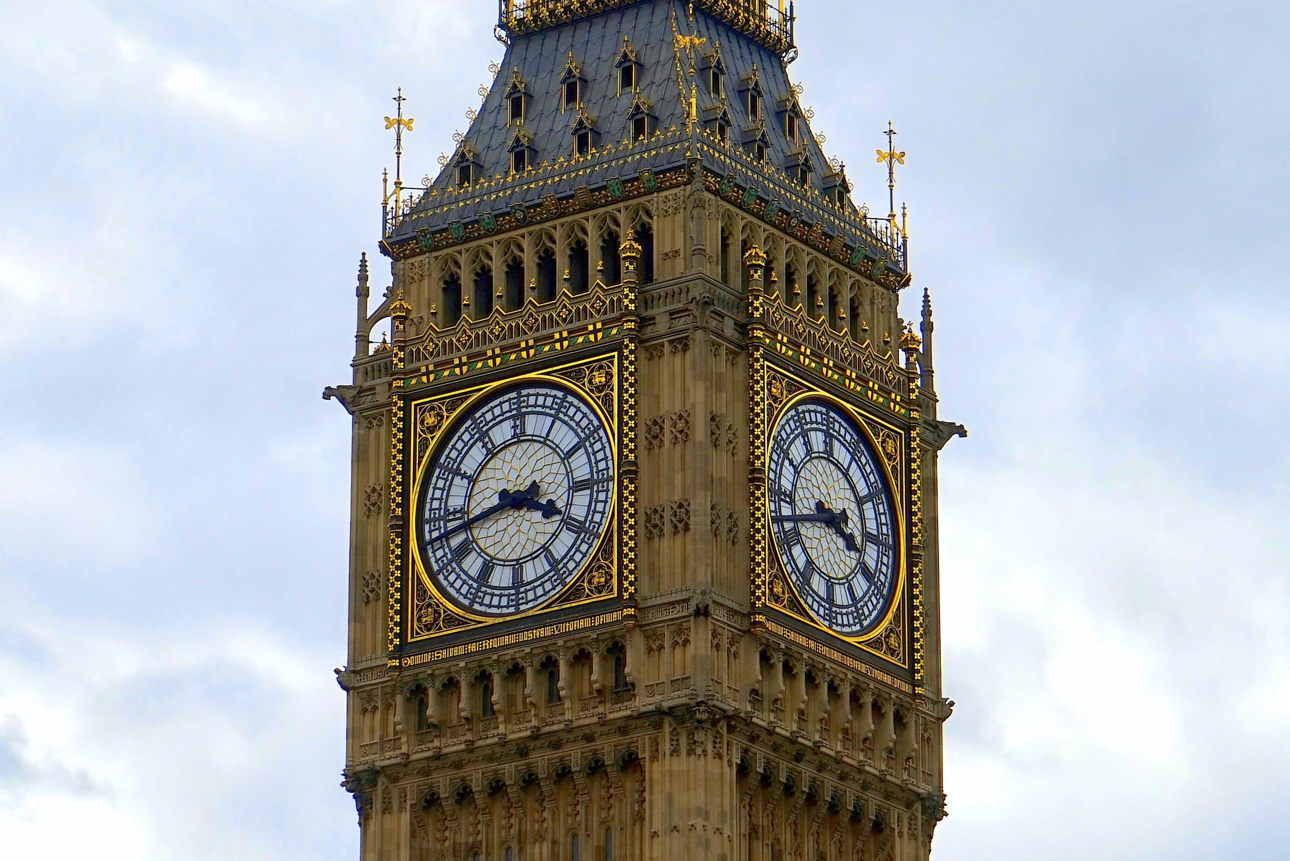 Foto d'estoc gratuïta de Anglaterra, antic, arquitectura, Big Ben