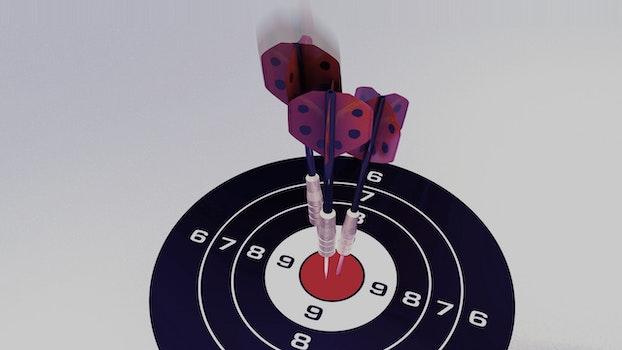 Free stock photo of arrow, meeting, play, darts