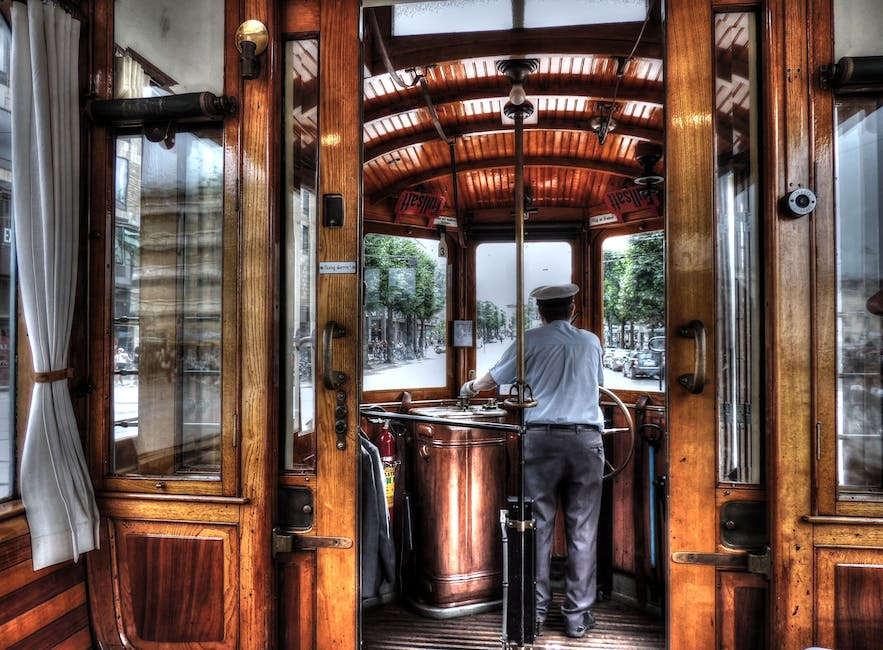 New free stock photo of wood, person, tram