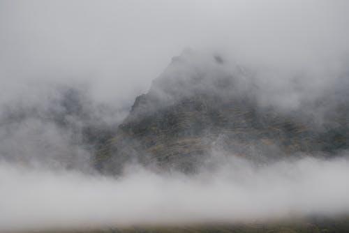 Základová fotografie zdarma na téma fotografie záhlaví soundcloud, hora, mlha, zamlžené