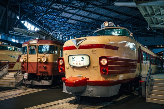 Free stock photo of train, tram, the tokyo railway museum
