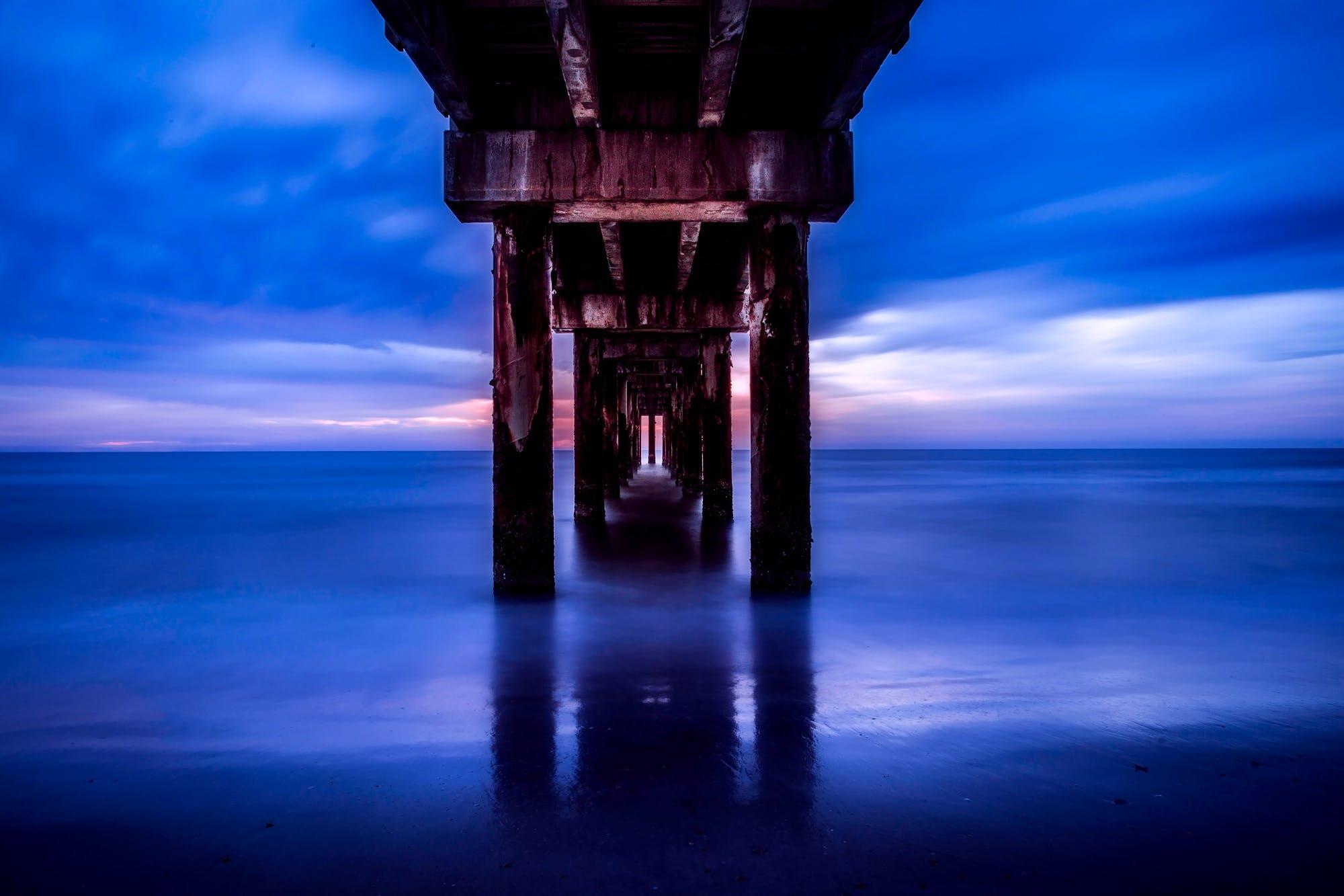 Free stock photo of sea, sky, sunset, holiday