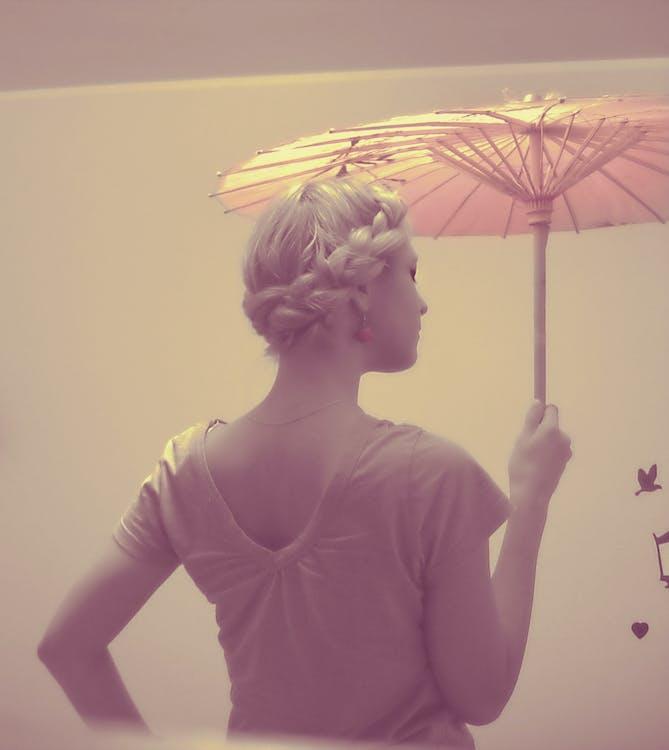 Free stock photo of blonde girl, classic, retro