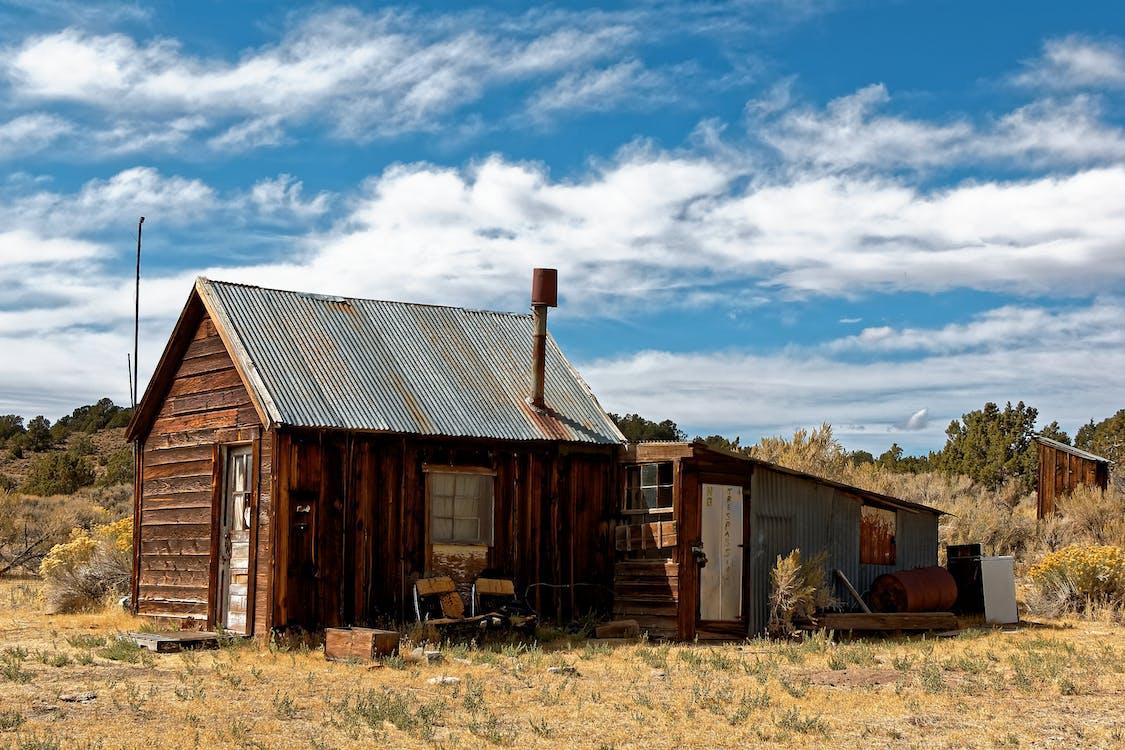 barraca, cabana, cabine