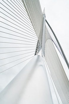 Free stock photo of bridge, pattern, metal, architecture