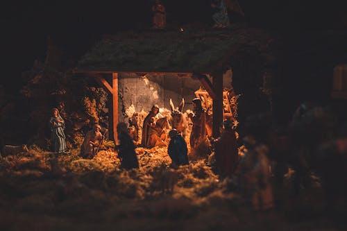 Scene of Birth of Christ