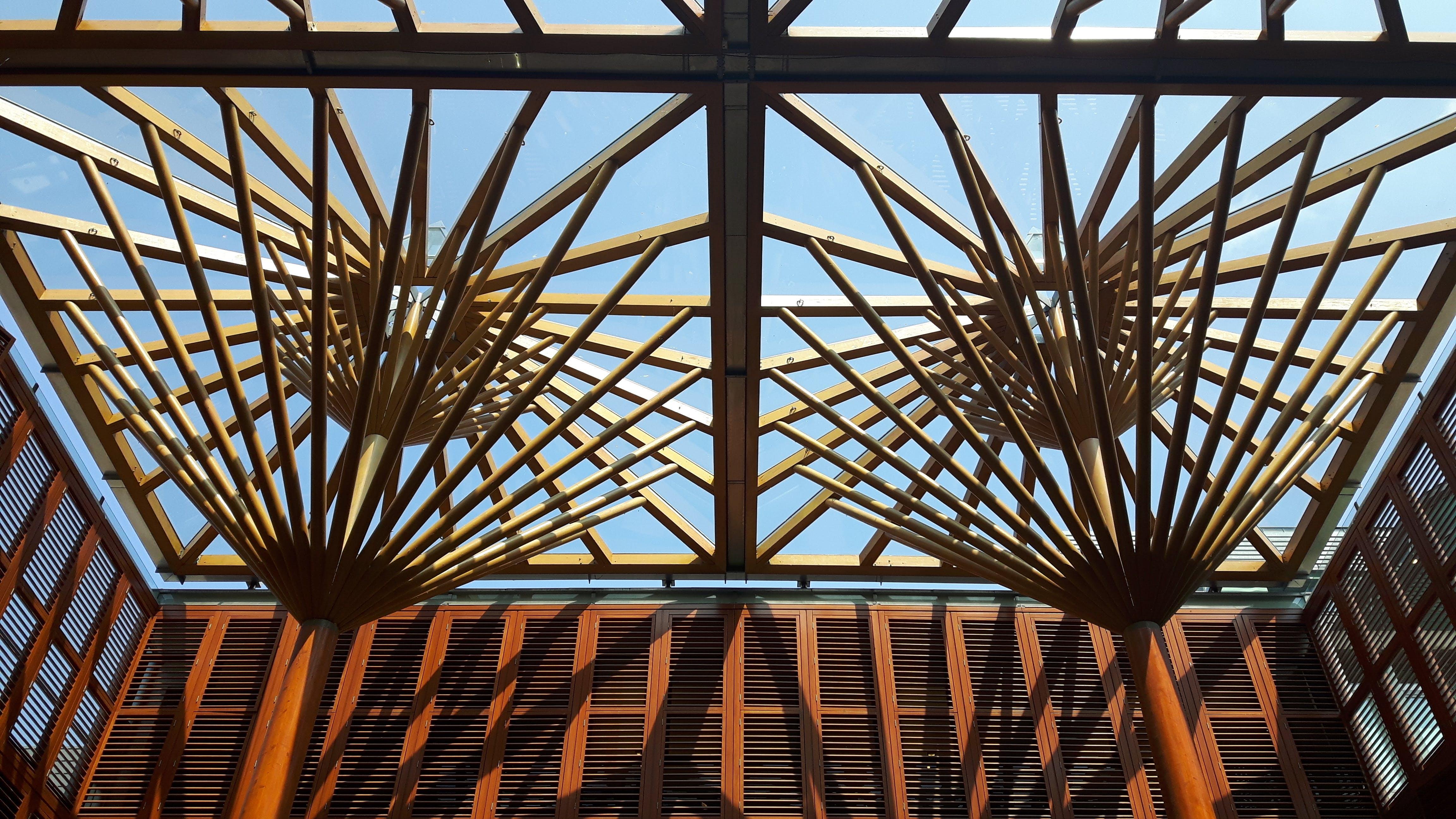 Free stock photo of #maastricht, #mosae forum, #shopping mall, #orange blue