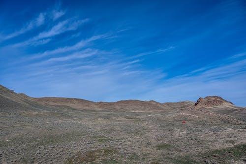 Gratis lagerfoto af atmosfære, betagende, bjerg, blå himmel