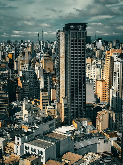 High Rise Buildings in Downtown Sao Paolo