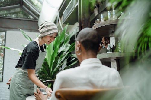 上菜, 亞洲, 僱員 的 免費圖庫相片