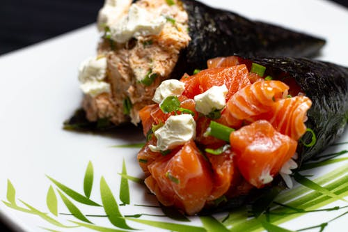 Gratis arkivbilde med comida asiática, japao, rolo de sushi