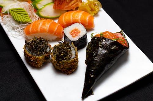 Gratis arkivbilde med comida asiática, delikat, fisk