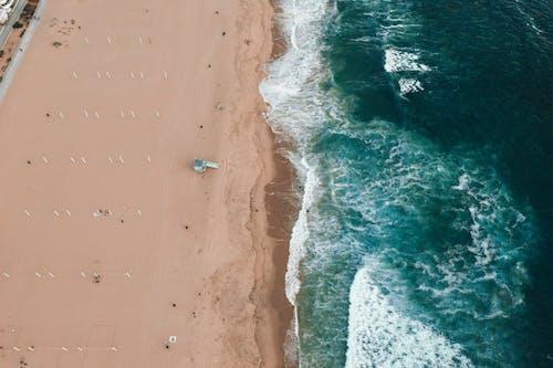 Immagine gratuita di acqua, aereo, altezza, ambiente