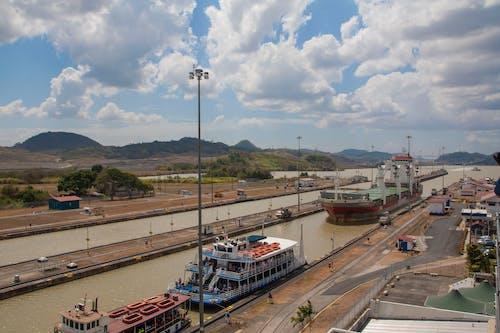 Foto stok gratis industri, kanal, kanal panama, Panama