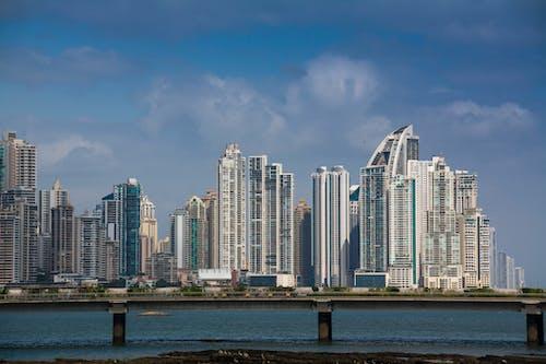 Foto stok gratis garis langit, jalan raya, Panama, pantai