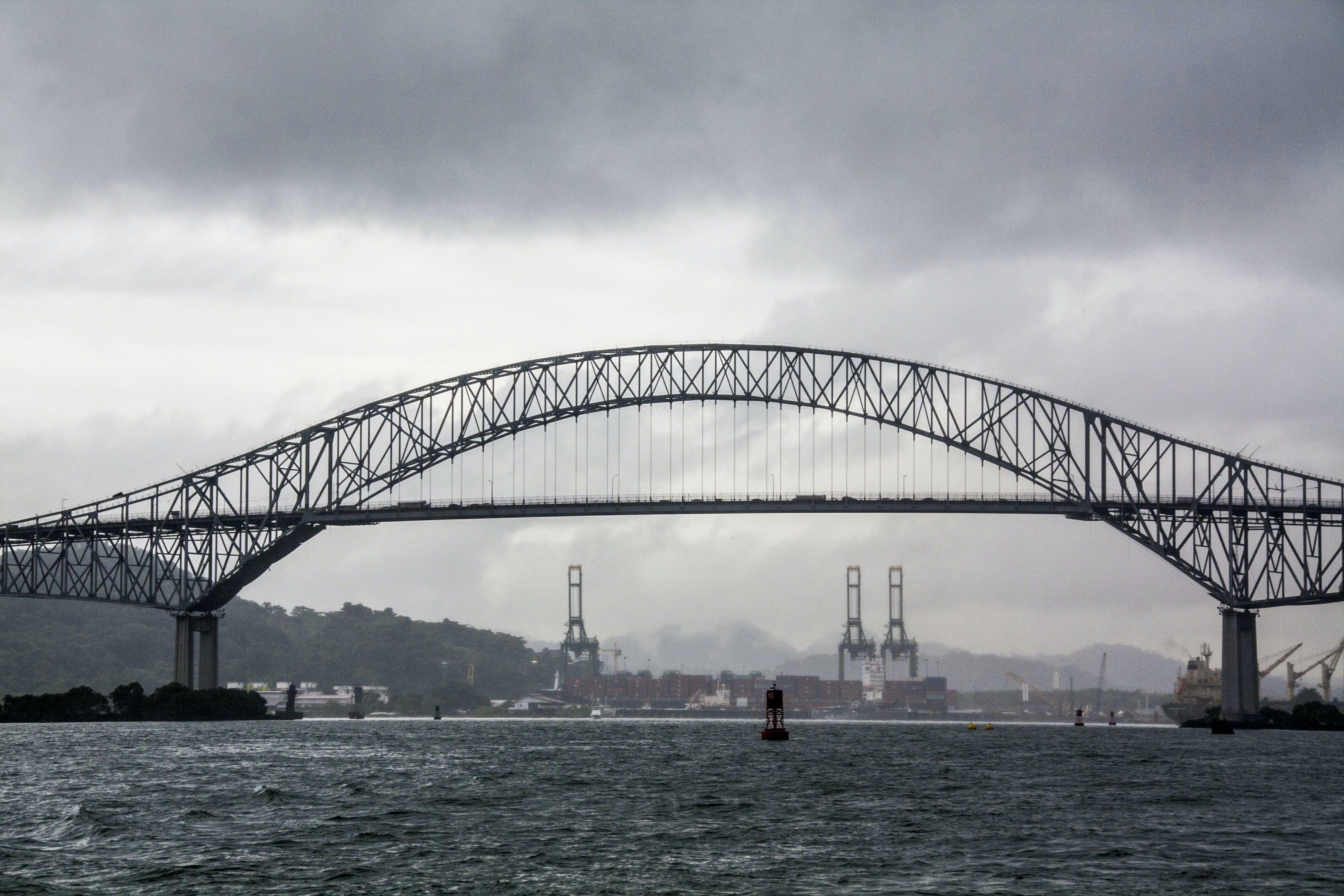 Free stock photo of bridge, old bridge, panama, panama canal