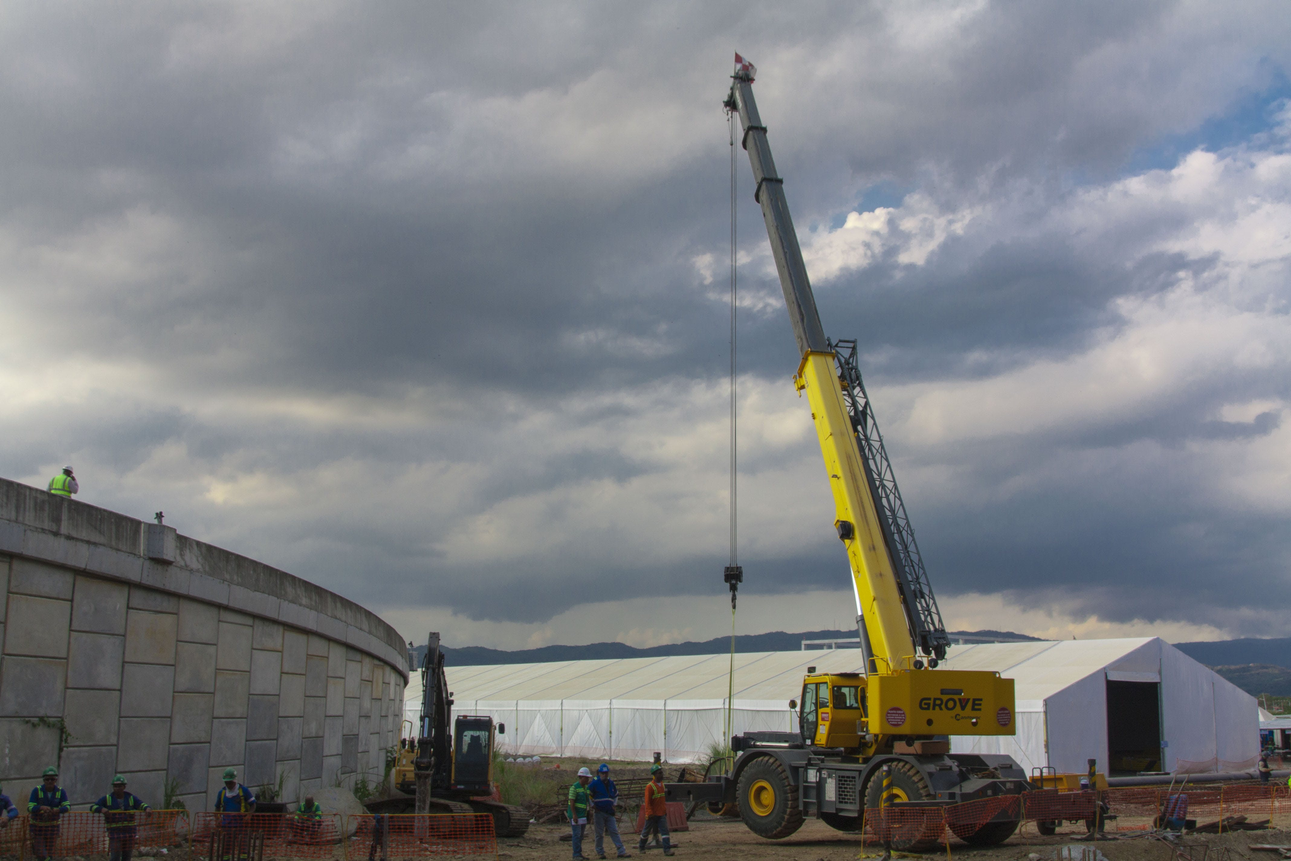 Free stock photo of airport, construction, panama, tocumen