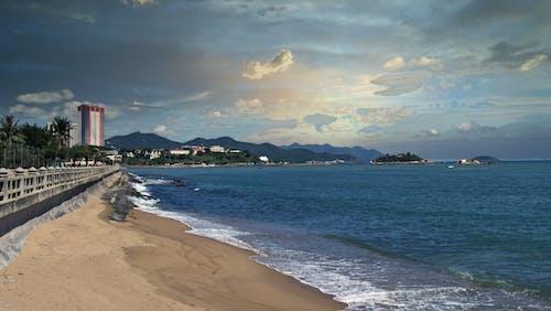 Free stock photo of budda, morska plaża, pagoda