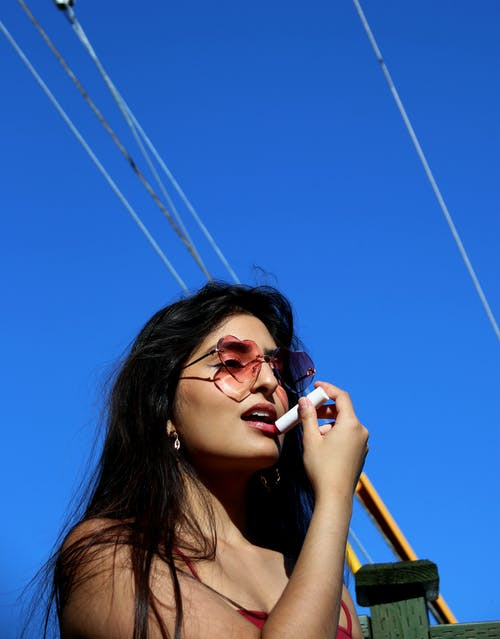 Free stock photo of blue sky, color, girl