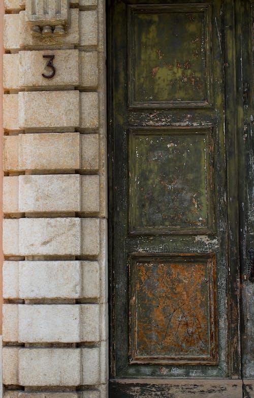 Ảnh lưu trữ miễn phí về cửa, kết cấu, số ba