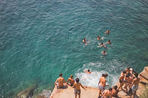 Ảnh lưu trữ miễn phí về biển, bờ biển, đá, giật gân
