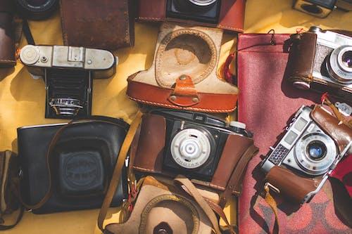 Ảnh lưu trữ miễn phí về đồ cũ, máy ảnh, retro