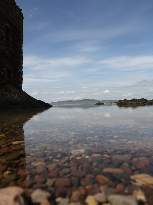 Free stock photo of beach pebble, clear waters, scotland, stones