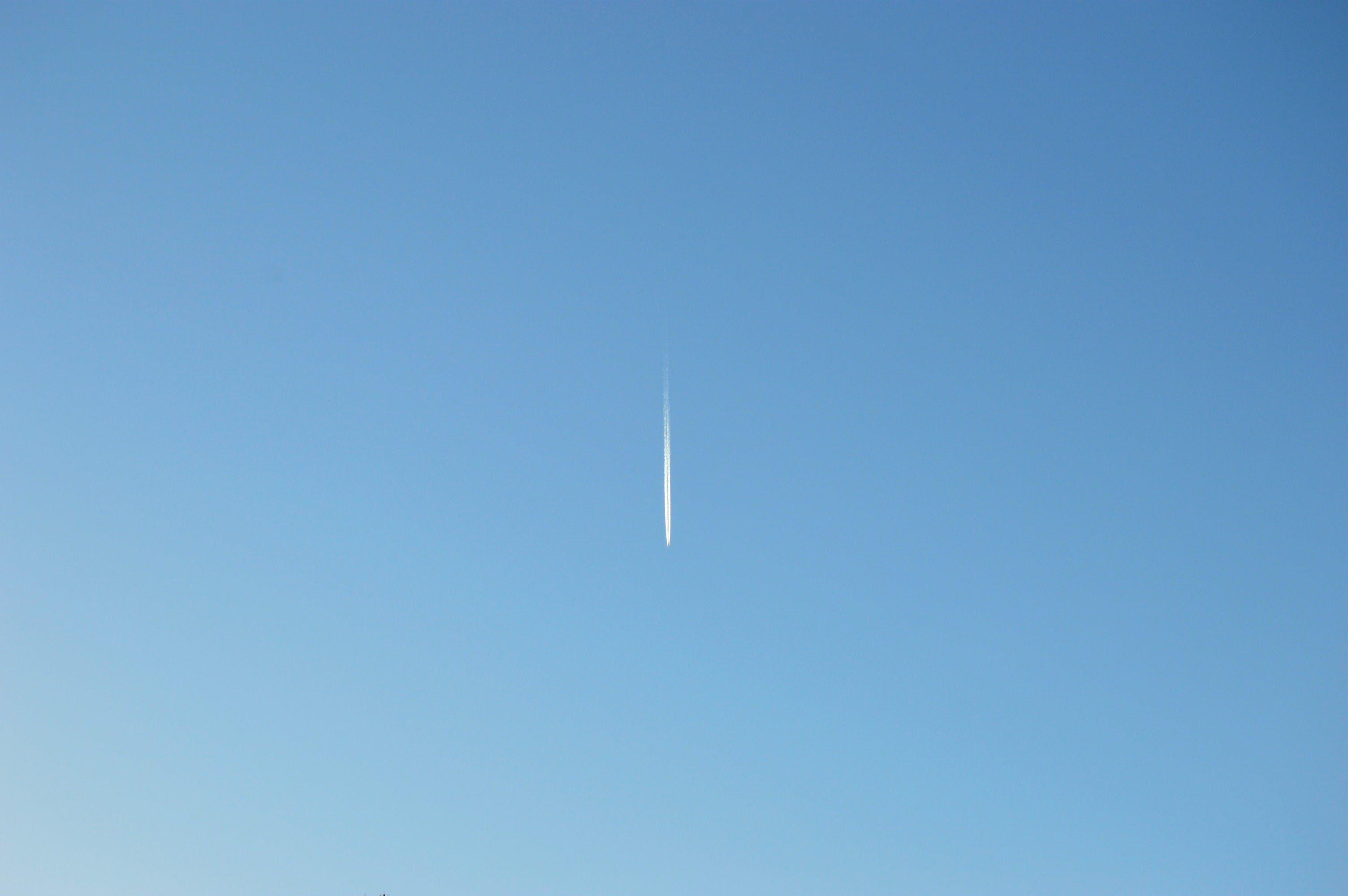 Free stock photo of airplane, blue, plane, sky
