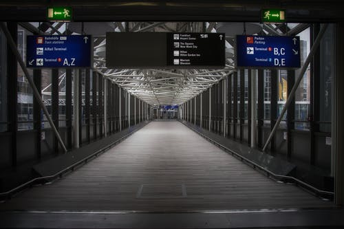 Free stock photo of airport, airport terminal, architecture, bench