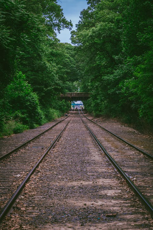 Free stock photo of bridge, railroad, railroad tracks, tracks