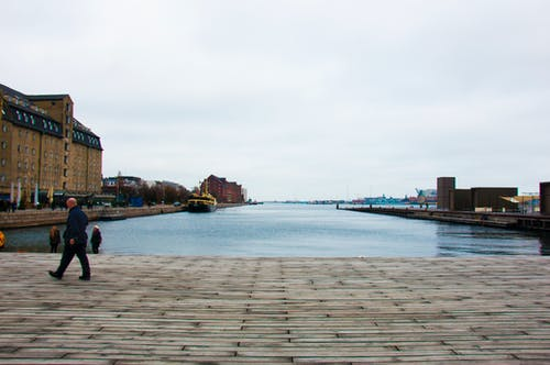 Free stock photo of blue water, city, copenhagen, grey skies