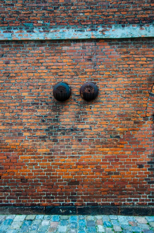Free stock photo of bricks, copenhagen, fire alarm, red bricks