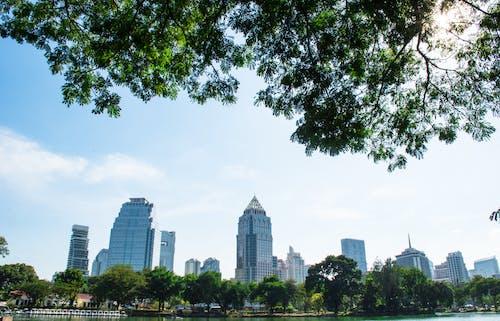 Foto stok gratis Bangkok, bangunan, bangunan apartemen