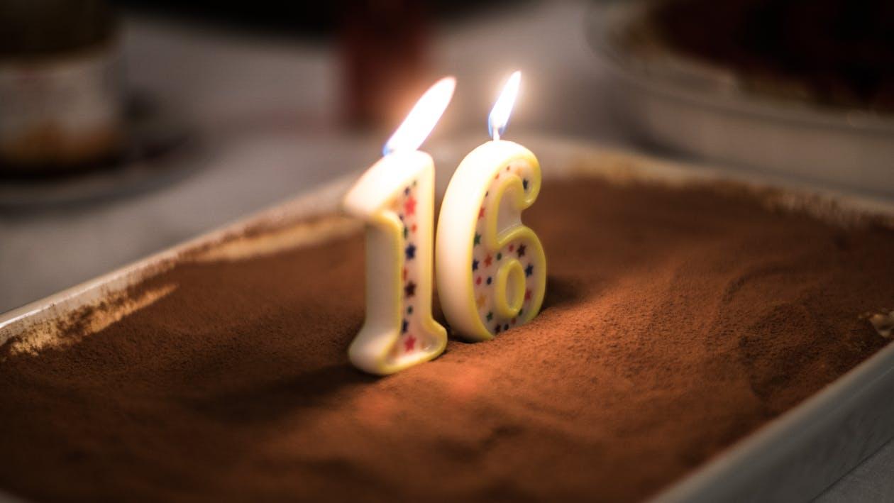 doğum günü pastası, gece, kek