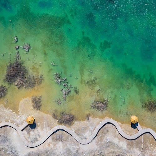 Photos gratuites de abstrait, bord de mer, côte, couleur
