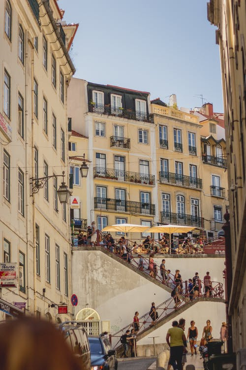 Foto stok gratis cerah, kota, liburan, Lisbon