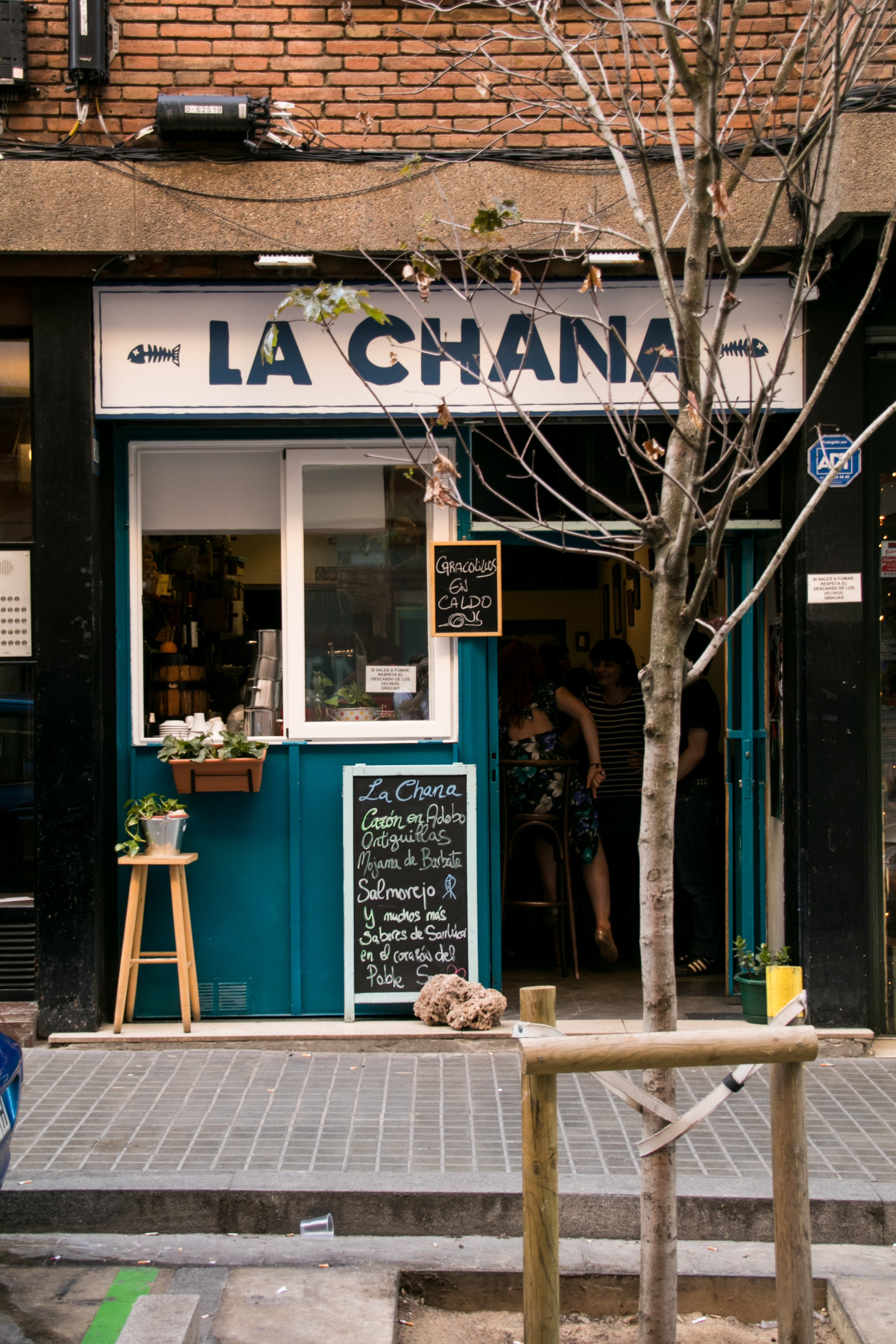 Free stock photo of commerce, entrance, front door, la chana