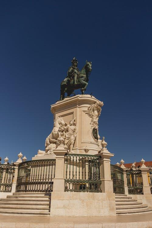 Foto stok gratis patung, penanda, penunjuk, Portugal