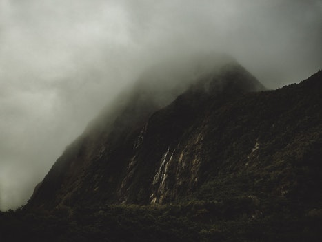 Free stock photo of mountains, nature, foggy, misty