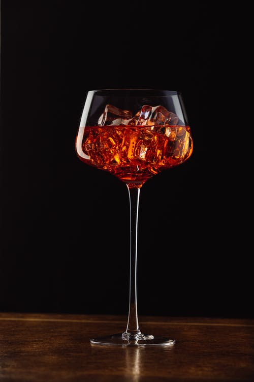 Photo of Alcoholic Beverage in Stem Glass