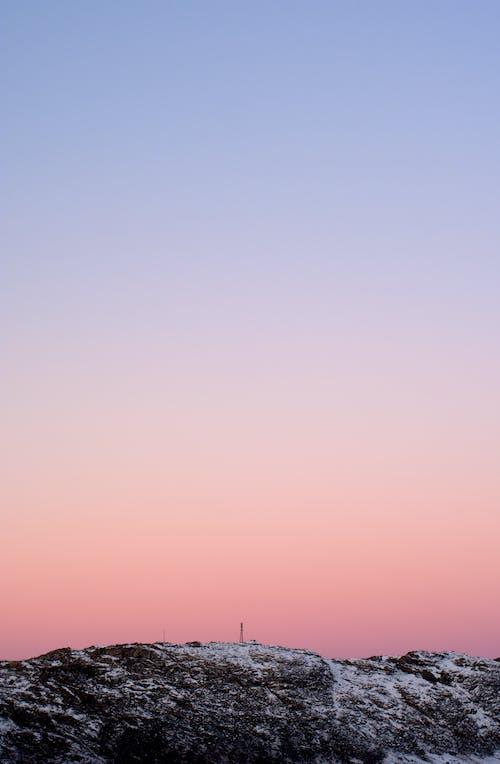 Gratis lagerfoto af aften, atmosfære, betagende, bjerg