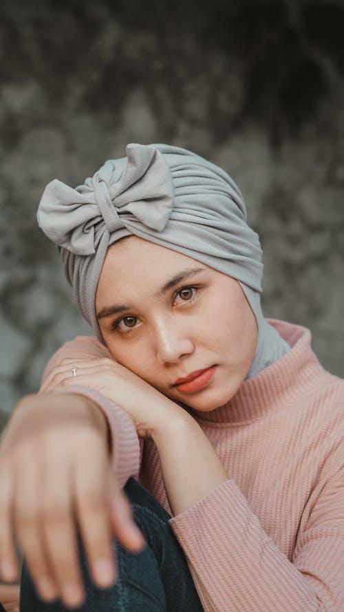 Photo of Woman Wearing Gray Hijab
