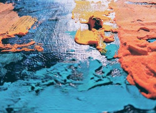 Бесплатное стоковое фото с Абстрактная живопись, абстрактный, акриловая краска, активный отдых