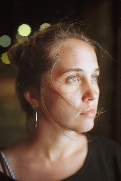Ingyenes stockfotó 35 mm, 35mm-film, álló kép, arc témában