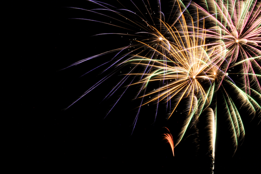 Free stock photo of night, firework, fireworks