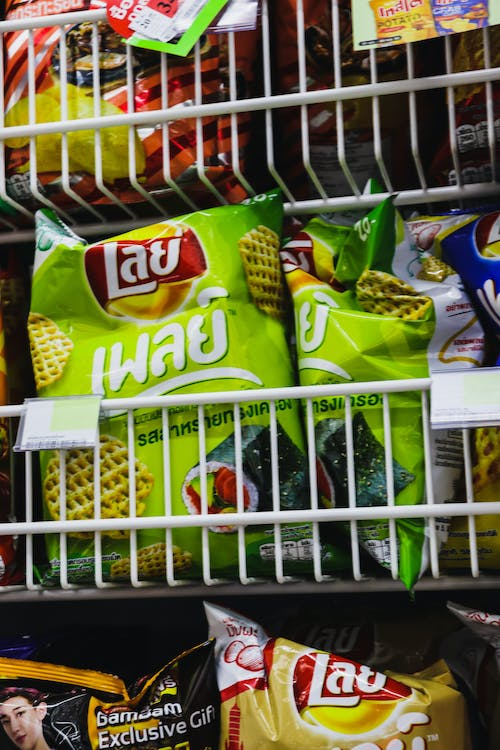 Free stock photo of chips, lays, snack