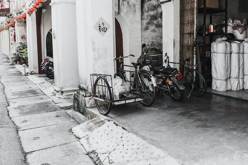 Free stock photo of alleyway, antique, classic